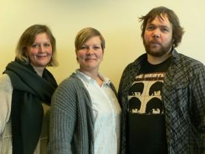Ledelsen i Attac: Ingerid Straume, Benedikte Pryneid Hansen og Magnus Eriksson