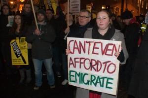 Fra en tidligere irsk demonstrasjon. Foto(CC): Paul C. Reynolds