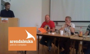 Vår debatt på Arendalsuka 2014.