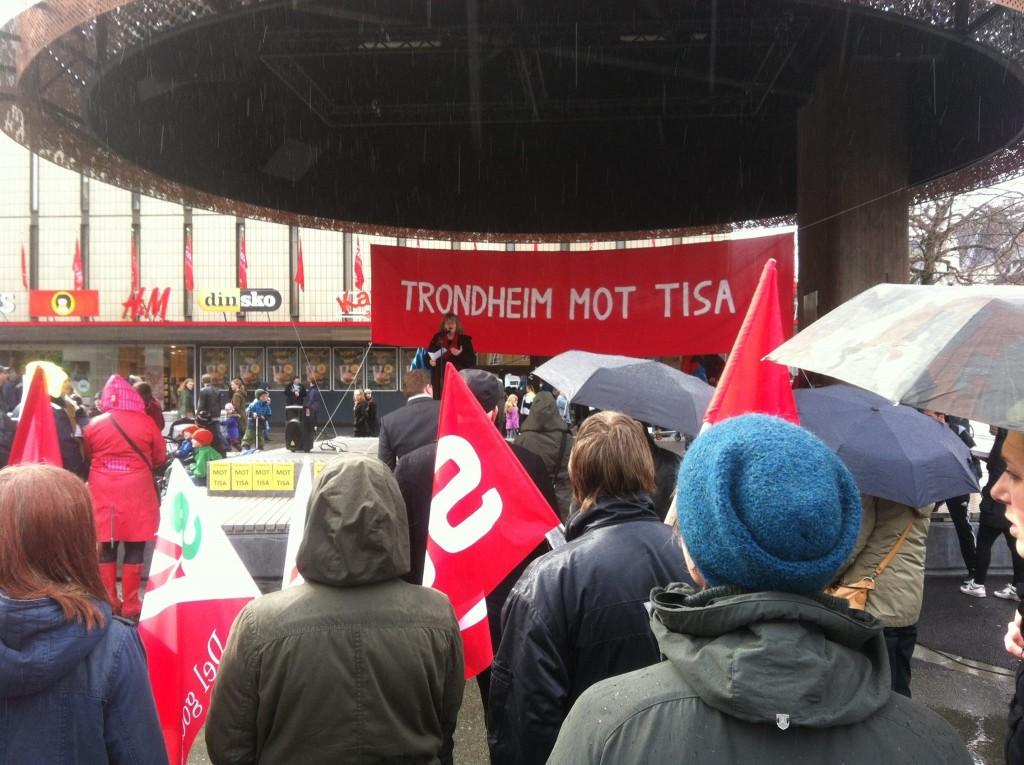 Trondheim mot TISA